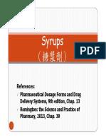 6-Syrups