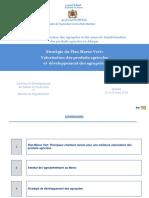 Stratégie Du Plan Maroc Vert Valorisation Des Produits Agricoles Et Développement Des Agropoles by Ms Naima