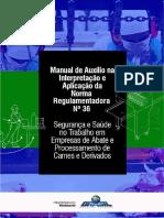Manual da NR 36