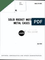 NASA - sp8025 - Space Vehicle Design Criteria - Solid Rocket Motor Metal Cases.pdf