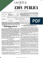 Gaceta de Instrucción Pública . 7-4-1897
