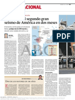 Diario ABC de Madrid, España 28-02-2010 Chile Sufre El Segundo Gran Seísmo en América en Dos Meses (1).