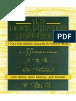 [Mavko G., Mukerji T., Dvorkin J.] the Rock Physic