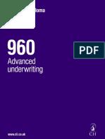 Advanced Underwriting 2017