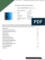 Boiler Indirect Cu 1 Serpentina 1000 l