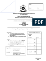 230969479 Form 2 English Mid Year 2014 Examination PT3 Formatted Exam (1)