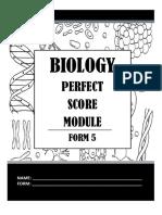 Module Form 5 BIOLOGY