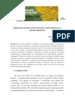 Territorialidades Vividas. Dinámicas Fronterizas en La Región Misionera