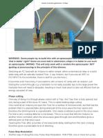 Arduino Controlled Light Dimmer_ 15 Steps