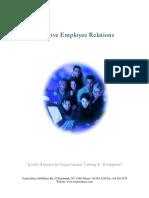 Effective Employee Relations