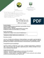 Syllabus Evaluare Practica