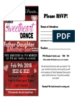 Sweetheart Dance Flyer