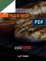 Alimentation Prise de Masse Expert
