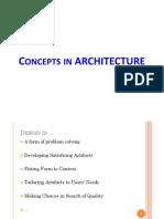 CS652 - 8 Architecture Fundamentals