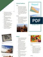 brochure for nepal