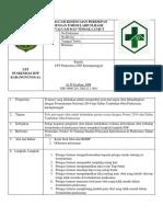 8.2.1.8 SOP Evaluasi Kesesuaian Peresepan Dengan Formularium, Hasil Evaluasi Dan Tindak Lanjut Rev
