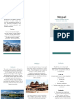 nepal brochure