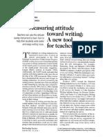 garfield reading survey article