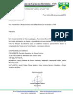 FKR 005-2018 Inscrição de Chapa Para a AGO
