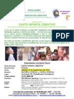Canto Infantil 250910