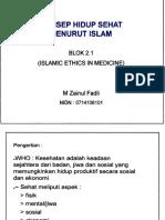 Konsep Hidup Sehat Menurut Islam