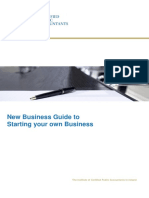 New Business Guide to Starting Your Own Business