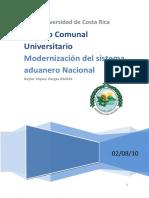Manual de Procedimiento Agencia Aduanas