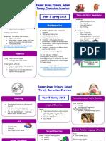 Year 5 Parent Curriculum Plan Spring 2018
