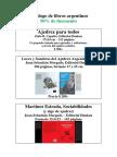Libros Argentinos - Liquidación por Cierre de la Librería de Perú 84 Buenos Aires