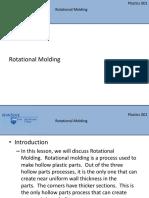 Lesson 6 Rotational Molding
