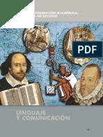 Campo de Formacion Lengua y Comunicación