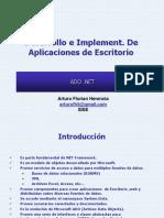 Diapositivas de ADO .Net Semana-1