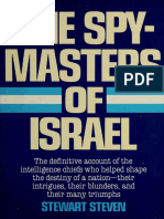 The Spy-masters of Israel--The Definitive Account of the Intelligence Chiefs Who Helped Shape the Destiny of a Nation.pdf