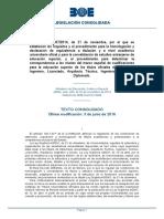 RD 967 - 2014 Homologación Títulos