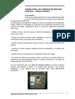 Cotizacion 0393 - Anexo 6 - Recomendaciones para traslado de camara STRATA.pdf