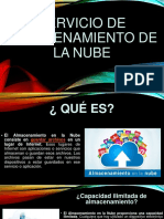 ALMACENAMIENTO DE LA NUBE