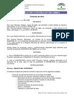 Modelo Contrato de Obra