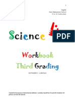 Science Workbook 3rd