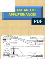 Barrage and Its Appurtenances