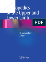 Orthopedics of the Upper and Lower Limb, 2013