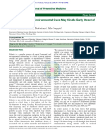 Co‑education with Environmental Cues May Kindle Early Onset of Female Puberty