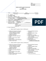 Employability of Buce Graduates Questionnaire for Graduates
