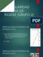 Irregularidad Extrema de Rigidez (Grupo 2)