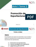 Modulo I - Tema 3 - Promoción de Exportaciones