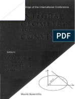 Integral Geometry and Convexity