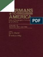 Docslide.net Germans to America Volume 12 Nov 2 1857 July 29 1859 Lists of Passengers