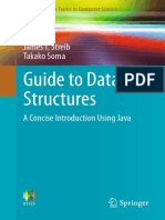 Guide Data Structures Concise Intro Using Java