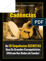 Ebook Cadencias do samba