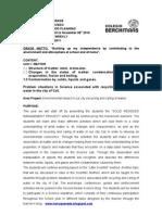 1st M.P. Planning - HANS - 2010-2011