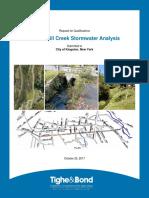 Twaalfskill Creek Stormwater Analysis Proposal